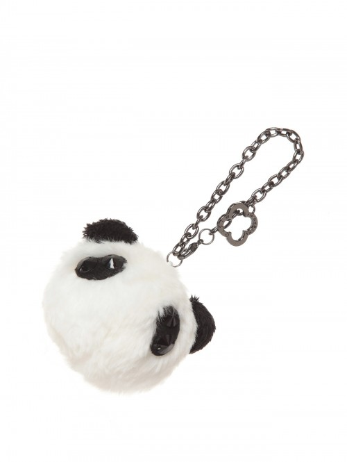 Panda face Pompon