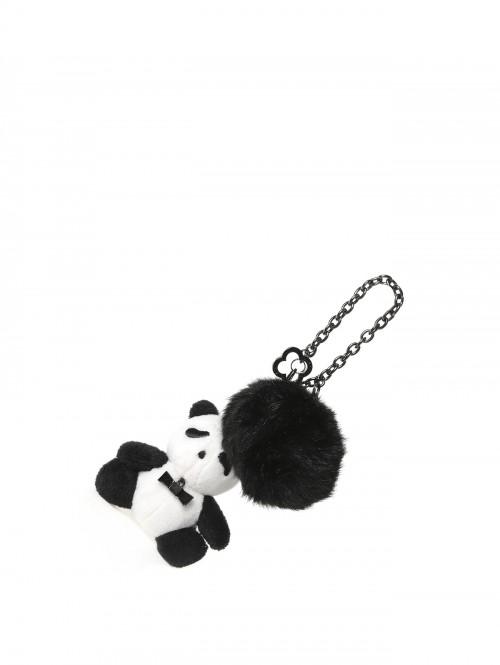 Panda Pompon - Bag Charm