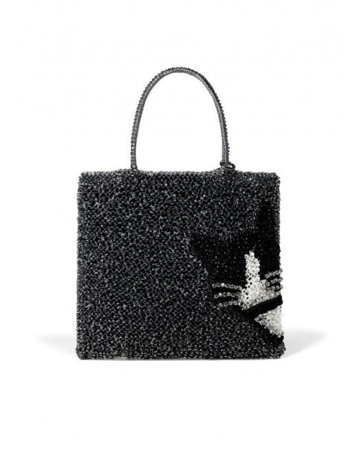 Fuzzy Cat Bag