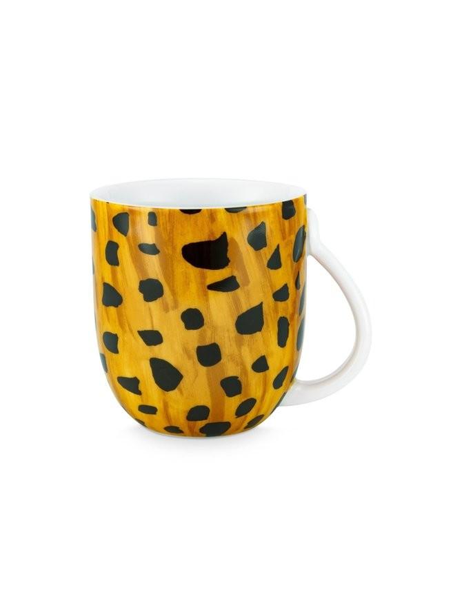 Fabienne Chapot Cheetah print Spot Print Cup & Saucer,280 ml