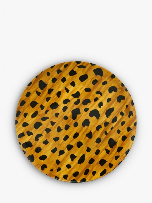 Fabienne Chapot Chettah print platter, 32 cm, multi  use