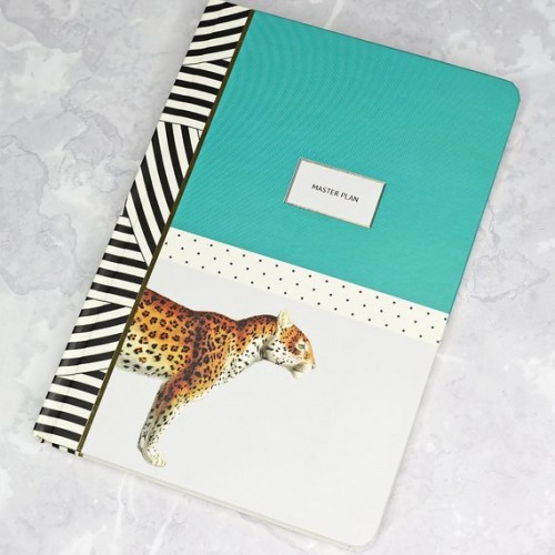 Cheetah A5 Notebook- Yvonne Ellen