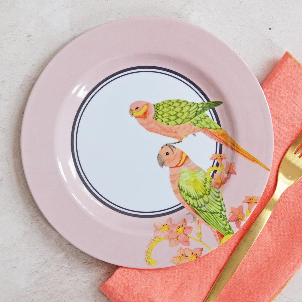 Safari Picnic Dinner Plates, set of 4