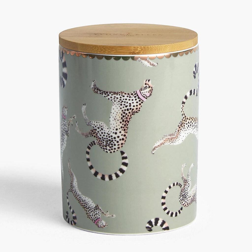 Cheetah storage Jar
