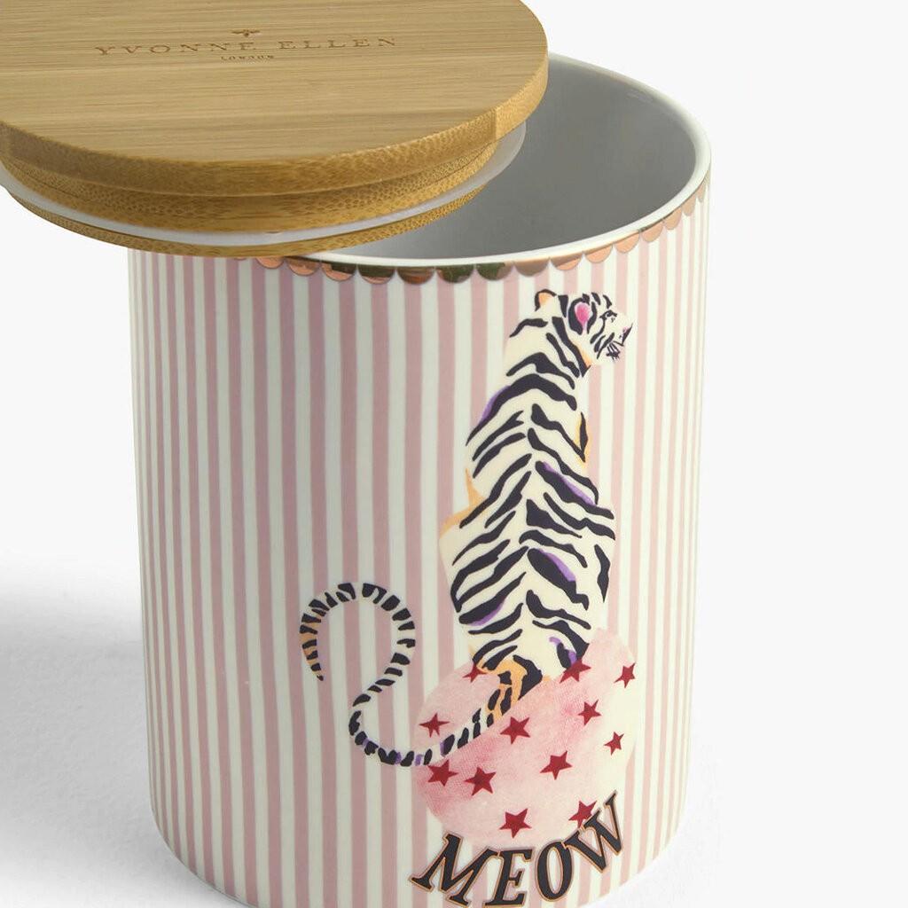 Tiger Storage Jar