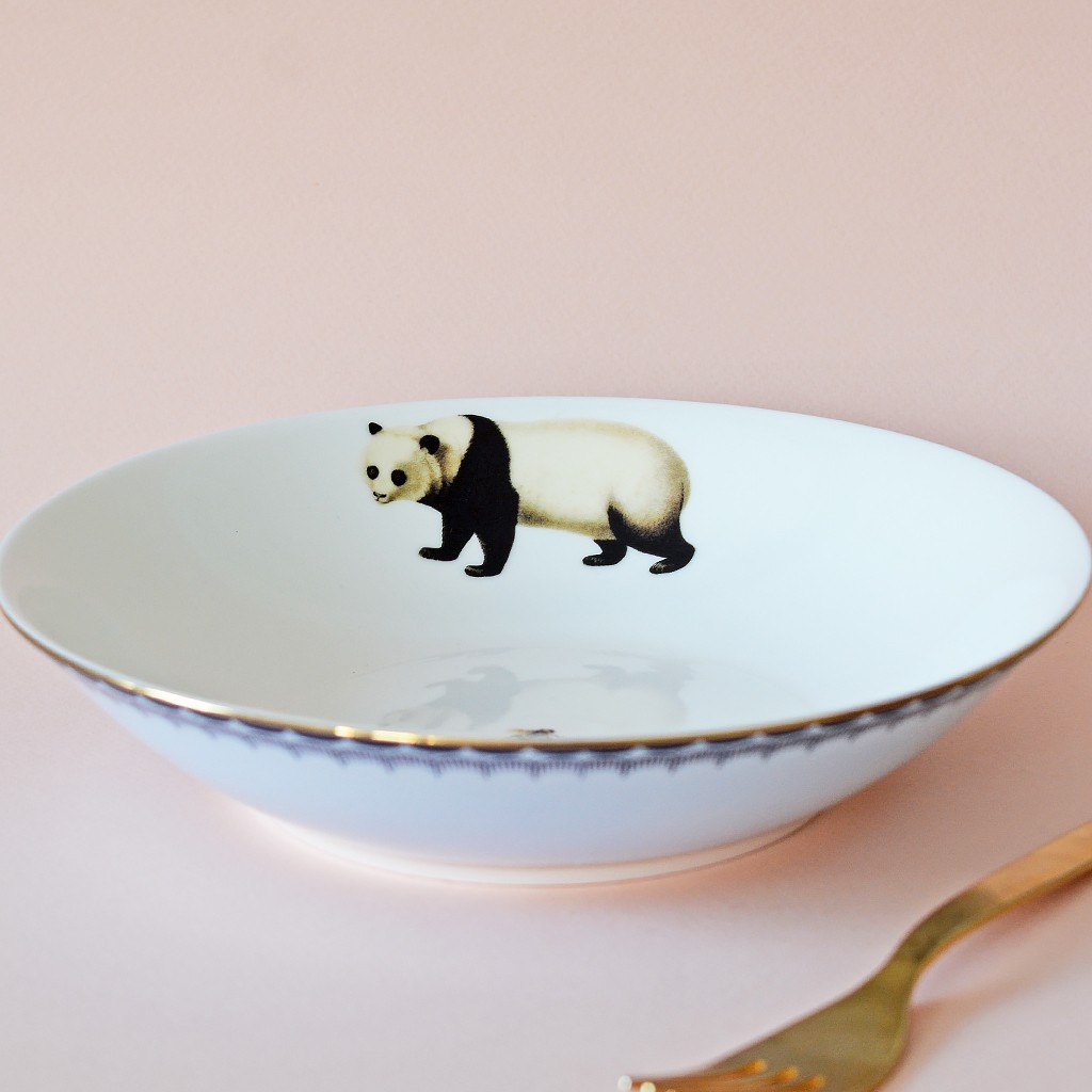 Panda Pasta bowl
