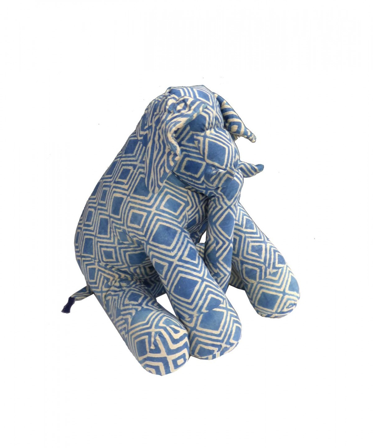 DOING GOODS- Elephant Indigo Pillow
