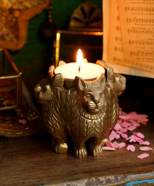 DOING GOODS - Lion Tealight Holder