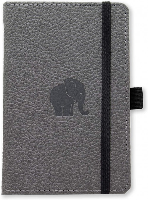 A5 Wildlife Grey Elephant (Lined)