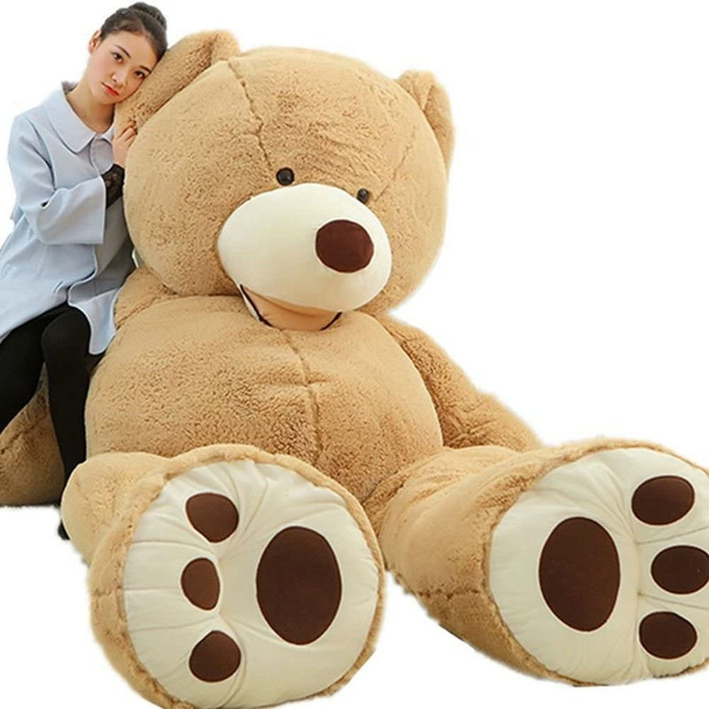 Kunshop Giant Teddy Bear Huge Toy (6.5 feet)