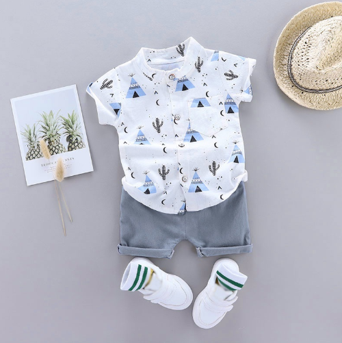 "2pcs Baby Set ""Tropical"""