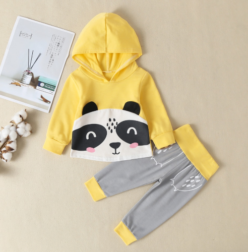 Panda 2pcs Boy Set