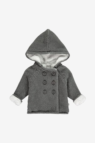 Knitted Baby Coat