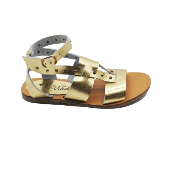 Gold Sandals for Girl