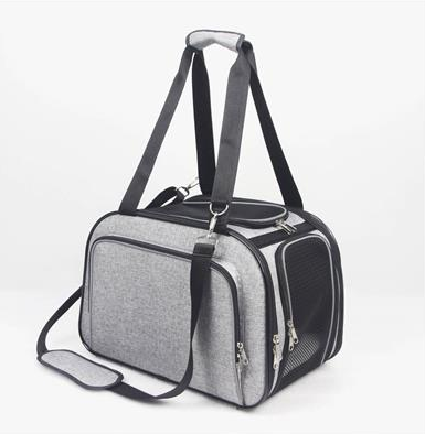 Gray Animal Carrier