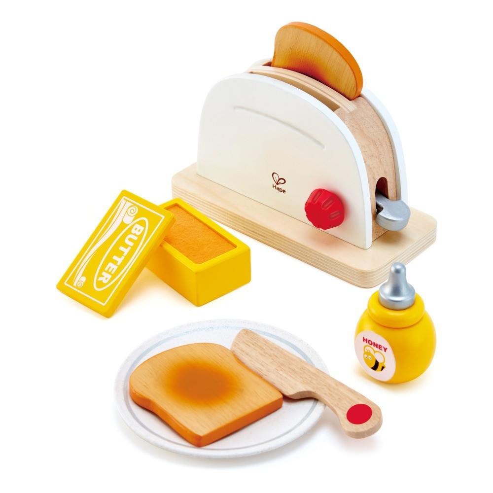 Wooden Toaster for Kids