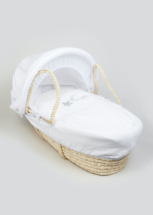 Star and Moon Baby Basket