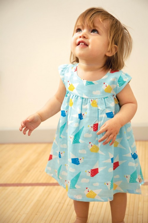Cute Origami Inspired Dress