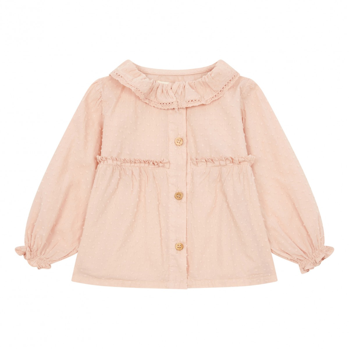 Adorable Pale Pink Blouse