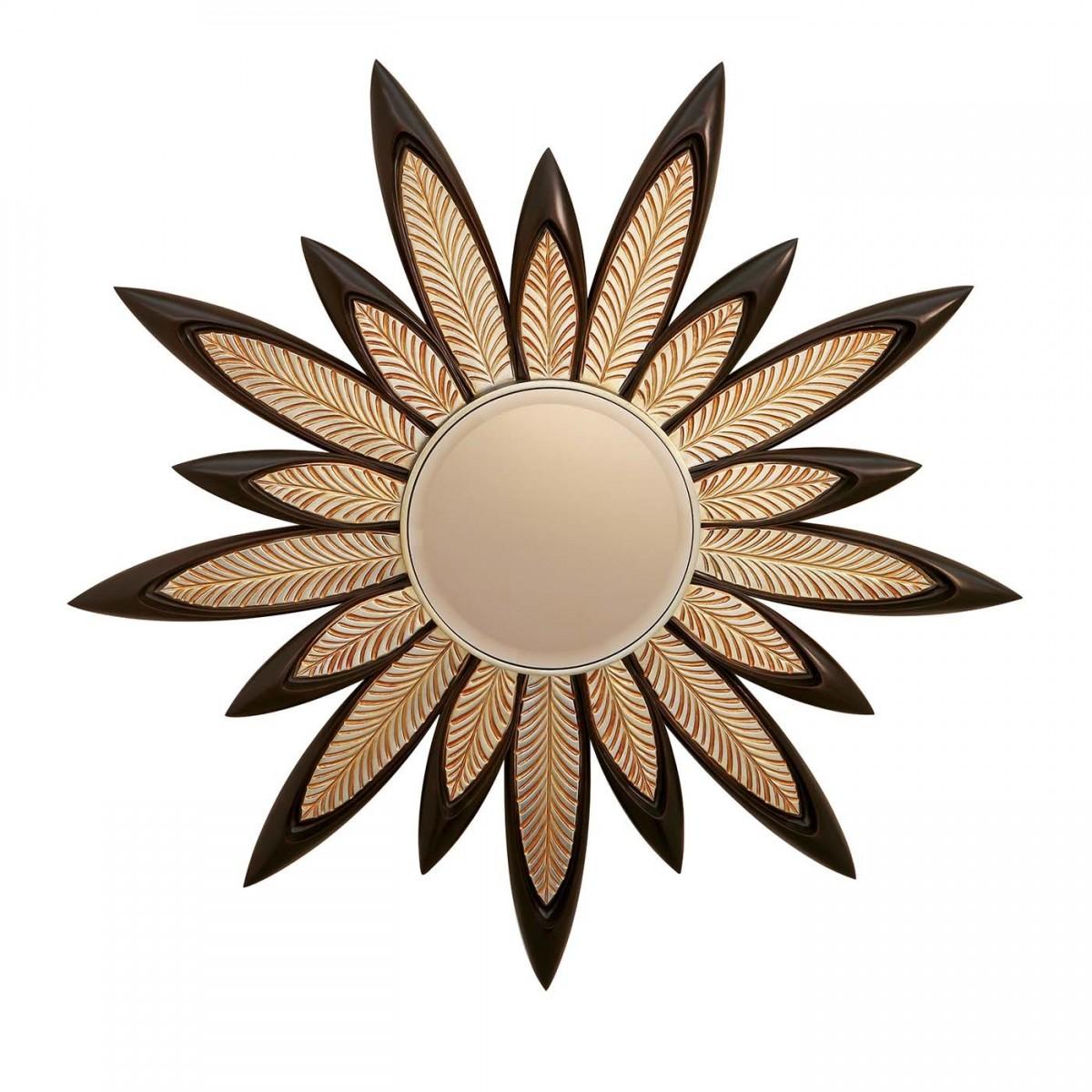 Floral Designed Mirror