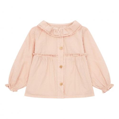 Adorable Pale Pink Blouse