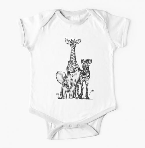 Safari - Baby Animals Body