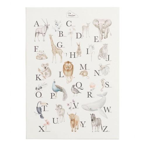 Interactive Alphabet Poster