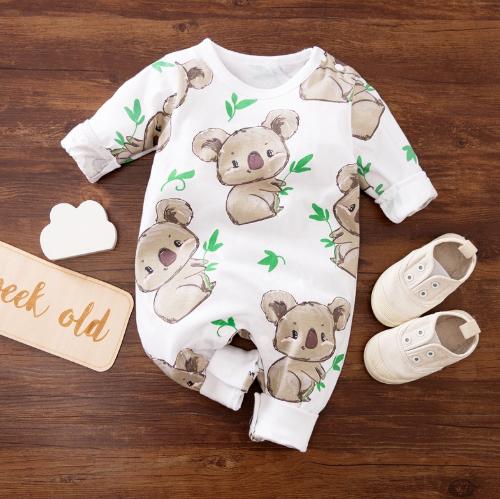 Baby Girl Koala Jumpsuit