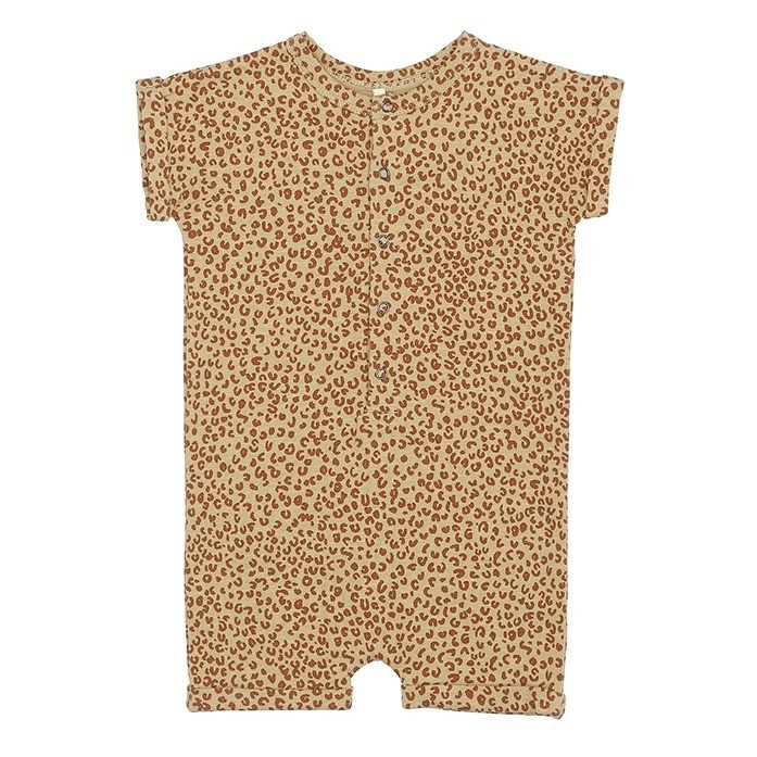 Leopard Imprint Play-suit