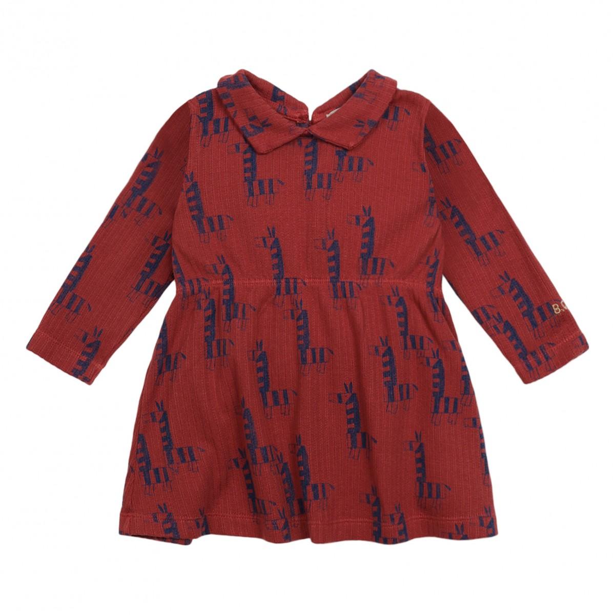 Zebra Cotton Dress