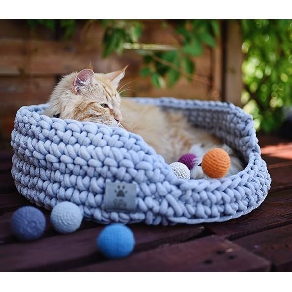 Set of 3 Crochet Balls