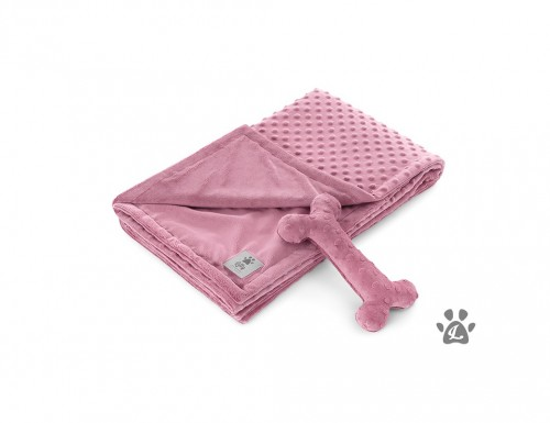 Plush Purple Dog Blanket