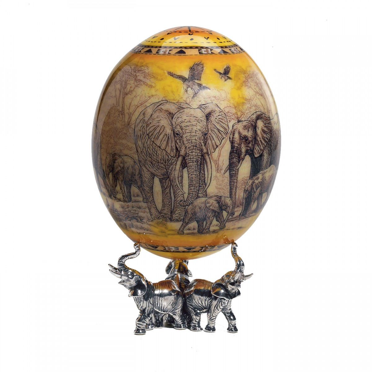 Safari-Inspired Egg