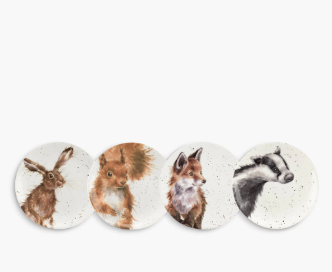 Dessert Plates with Animal Design