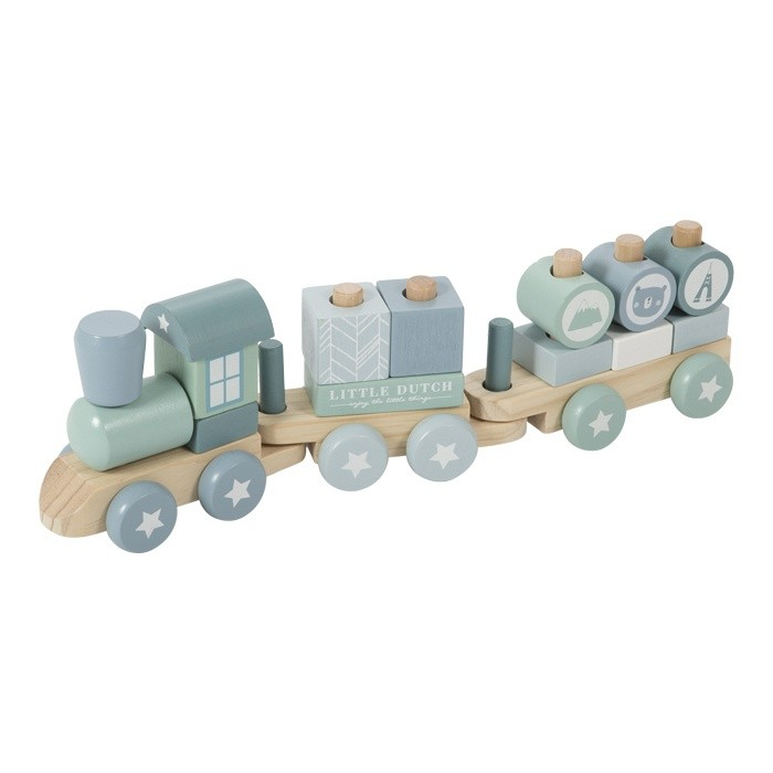 Adventure Wooden Block Train