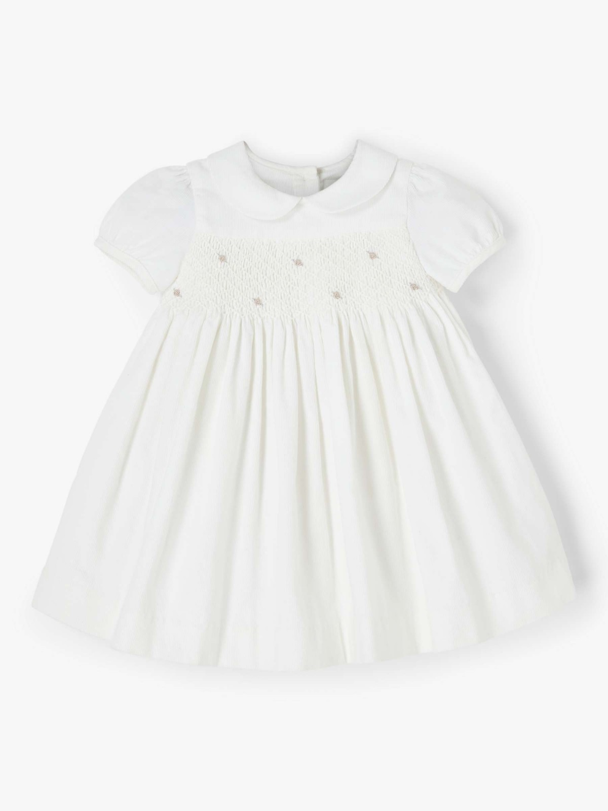 White Baby Girl Dress