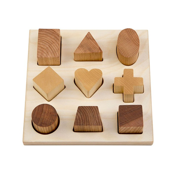 Wooden Natural Puzzle