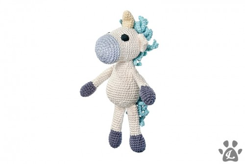 Organic Unicorn Dog Toy