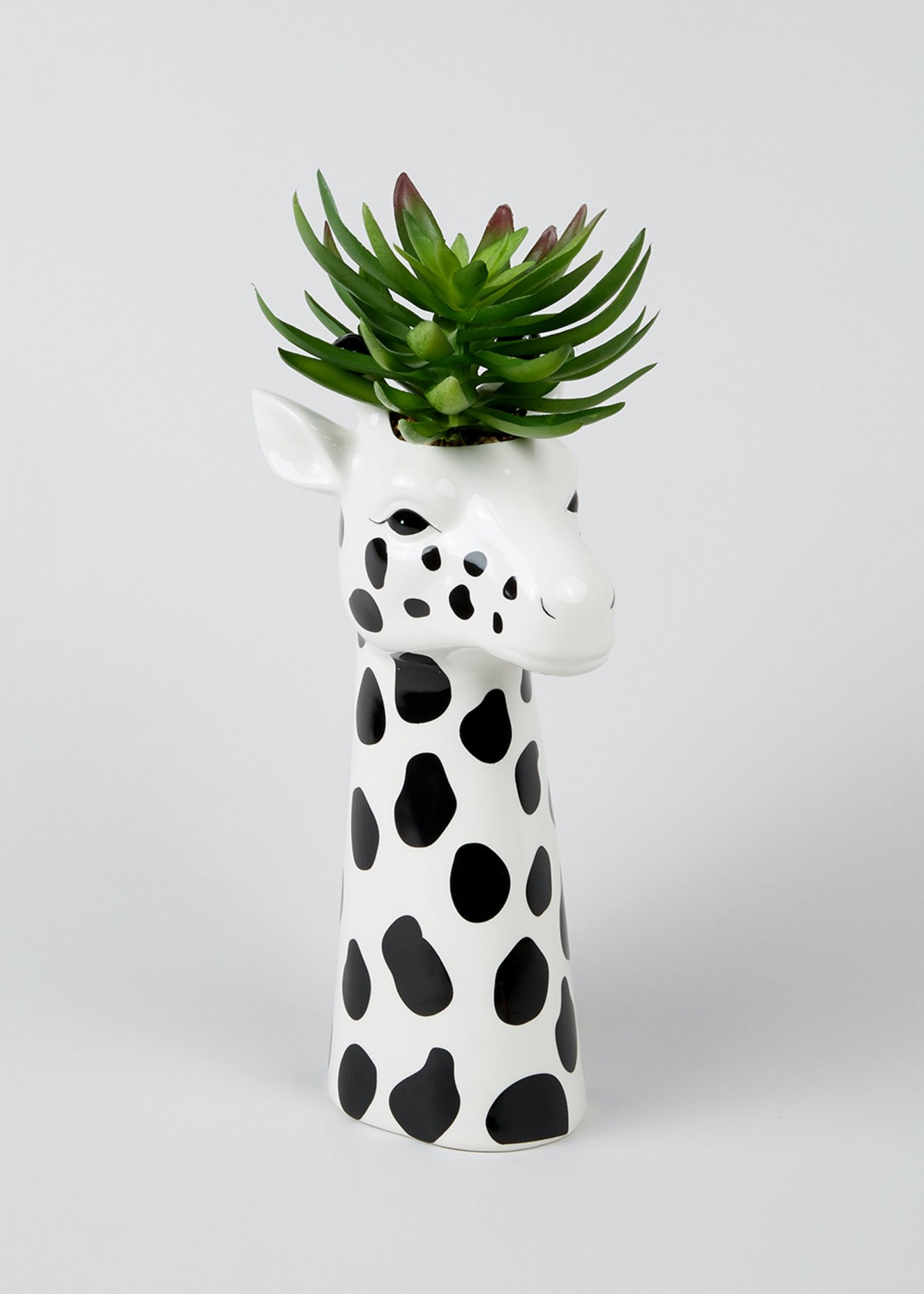 Ceramic Giraffe Planter