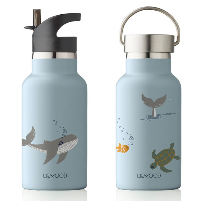 Water and Thermos Bottle Sea Creature