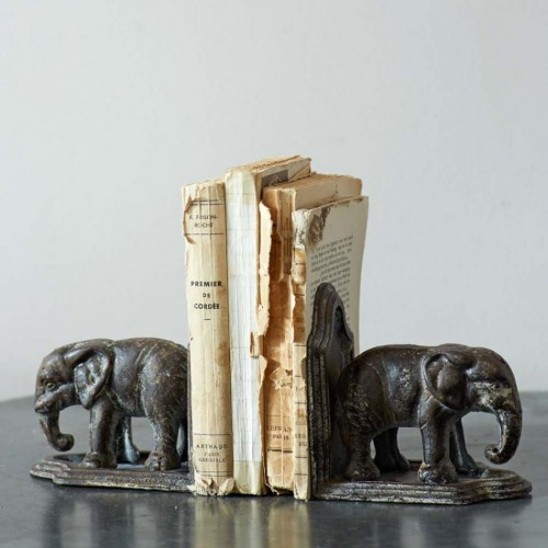 Elephant Book Holders