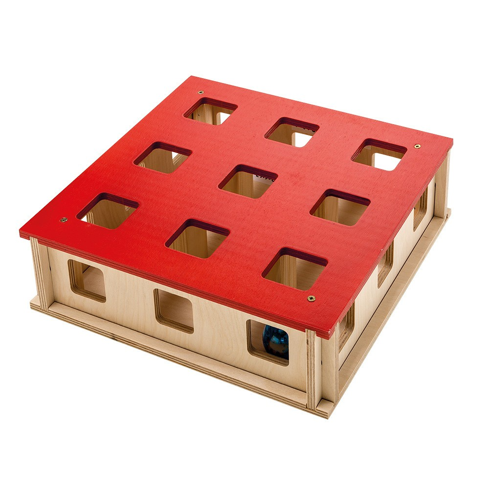 Wooden Magic Box Cat Toy