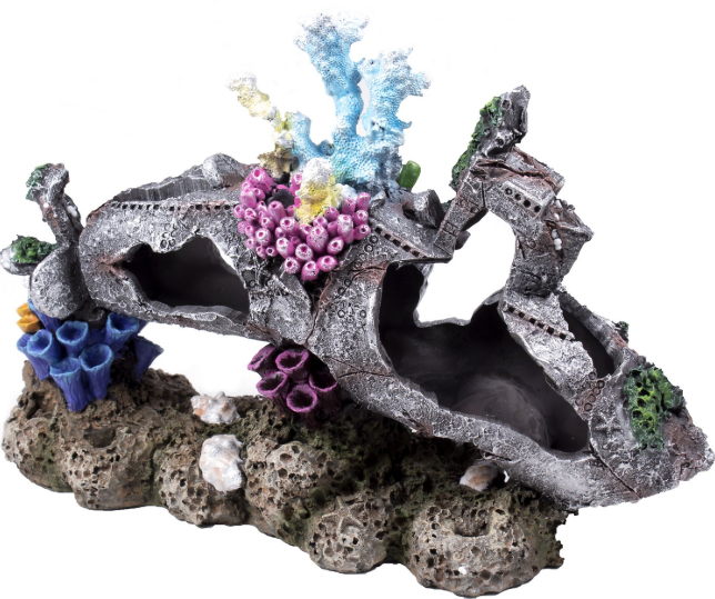 Submarine Coral Aquarium Decoration