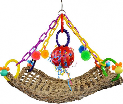 Bird Flying Trapeze Colorful Toy