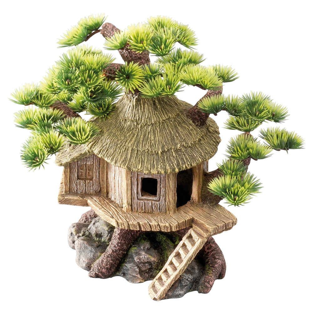 Tree House Decoration for Aquarium