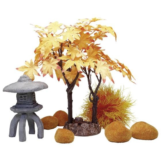 Autumn Aquarium Decor