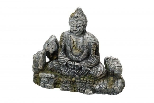 Faithful Aquarium Buddha Decoration