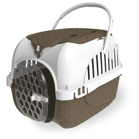Stylish Cats Travel Basket