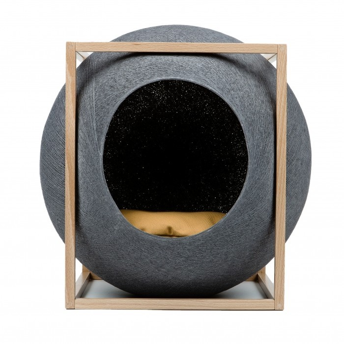 Cube Cocoon Cat Bed