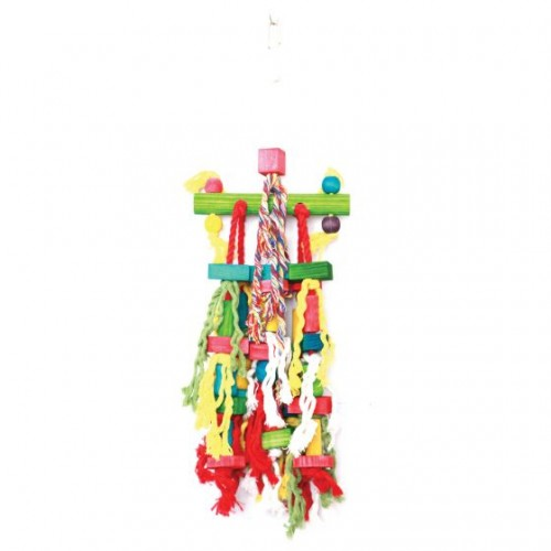 Colored Bird Toy